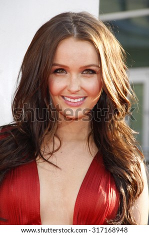HOLLYWOOD, CA - MAY 30, 2012: Camilla Luddington at the HBO's 'True Blood' season 5 premiere held at the ArcLight Cinemas in Hollywood, USA on May 30, 2012.