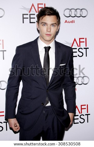 HOLLYWOOD, CA - NOVEMBER 05, 2009: Nicholas Hoult at the AFI FEST 2009 Screening of 'A Single Man' held at the Grauman's Chinese Theater in Hollywood, USA on November 5, 2009.