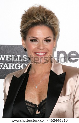 Hollywood, CA, USA; February 26, 2012; Cat Cora arrives to the 20th Annual Elton John AIDS Foundation Academy Awards Viewing Party.