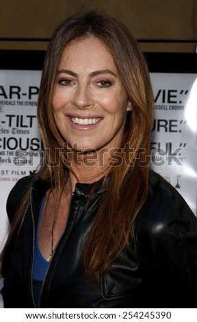 "HOLLYWOOD, CALIFORNIA - Friday June 5, 2009. Kathryn Bigelow at the Los Angeles premiere of ""The Hurt Locker"" held at the Egyptian Theater, Hollywood."