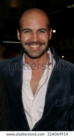 "HOLLYWOOD, CALIFORNIA. January 4, 2006. Billy Zane attends the Los Angeles Premiere of ""Bloodrayne"" at the Grauman's Chinese Theater in Hollywood, California United States.  - stock photo"