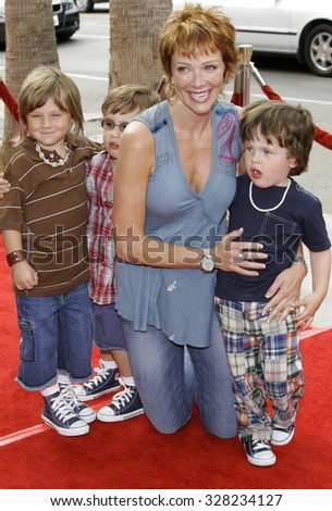 "HOLLYWOOD, CALIFORNIA. July 30, 2006. Lauren Holly at the World Premiere of ""Barnyard"" held at the Cinerama Dome in Hollywood, California United States."