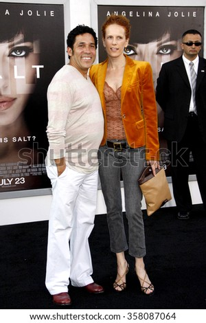 """HOLLYWOOD, CALIFORNIA - July 19, 2010. Oscar Nunez at the Los Angeles premiere of """"Salt"""" held at the Grauman's Chinese Theater, Los Angeles.   - stock photo"""