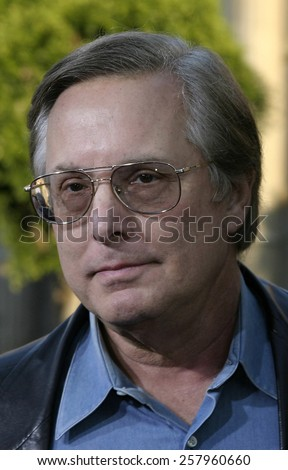 "HOLLYWOOD, CALIFORNIA - June 27 2005. William Friedkin attends at the ""War of the Worlds"" Fan Screening at the Chinese Theater in Hollywood, California."