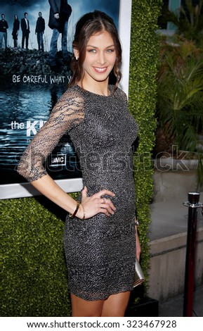 HOLLYWOOD, CALIFORNIA - March 26, 2012. Dayana Mendoza at the Los Angeles Season 2 premiere of AMC's 'The Killing' held at the ArcLight Cinemas in Hollywood. - stock photo
