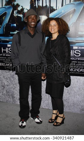 "HOLLYWOOD, CALIFORNIA - March 22, 2011. Don Cheadle at the Los Angeles premiere of ""His Way"" held at the Paramount Studios, Los Angeles."