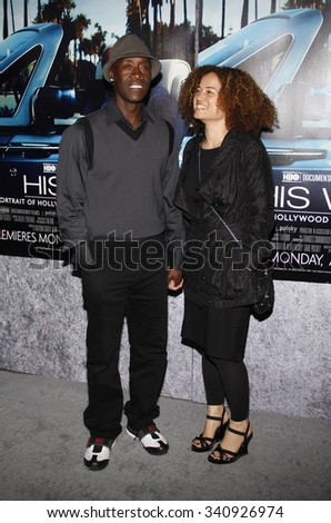 """HOLLYWOOD, CALIFORNIA - March 22, 2011. Don Cheadle at the Los Angeles premiere of """"His Way"""" held at the Paramount Studios, Los Angeles.  - stock photo"""
