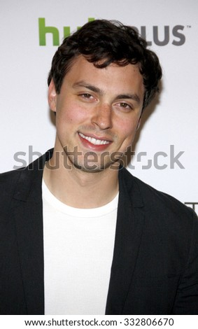 "HOLLYWOOD, CALIFORNIA - March 8, 2012. John Francis Daley at the PaleyFest 2012 Presents ""Bones"" held at the Saban Theatre, Los Angeles."
