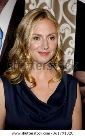 "HOLLYWOOD, CALIFORNIA - May 18, 2010. Hope Davis at the Los Angeles premiere of ""The Special Relationship"" held at the Director's Guild of America, Hollywood."