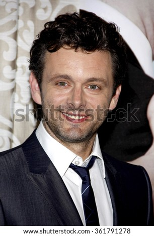 "HOLLYWOOD, CALIFORNIA - May 18, 2010. Michael Sheen at the Los Angeles premiere of ""The Special Relationship"" held at the Director's Guild of America, Hollywood."
