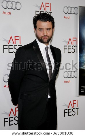 "HOLLYWOOD, CALIFORNIA - November 10, 2011. Daniel Mays at the AFI FEST 2011 ""The Adventures Of Tintin: The Secret Of The Unicorn"" Closing Night Gala held at Grauman's Chinese Theater, Los Angeles."