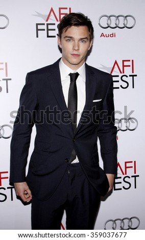 "HOLLYWOOD, CALIFORNIA - November 5, 2009. Nicholas Hoult at the AFI FEST 2009 Screening of ""A Single Man"" held at the Grauman's Chinese Theater, Hollywood, Los Angeles."