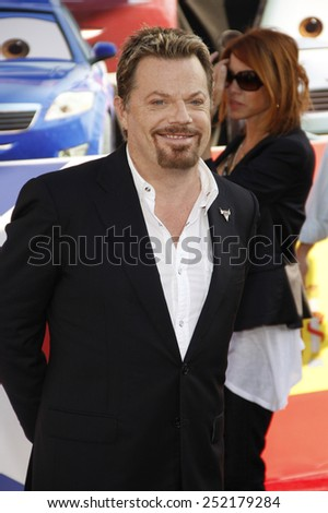 "HOLLYWOOD, CALIFORNIA - Saturday June 18, 2011. Eddie Izzard at the Los Angeles premiere of ""Cars 2"" held at the El Capitan Theatre, Los Angeles."