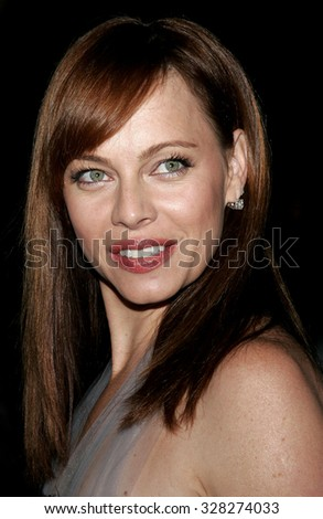 "HOLLYWOOD, CALIFORNIA. September 13, 2006. Melinda Clarke at the Los Angeles Premiere of ""The Last Kiss"" held at the Directors Guild of America in Hollywood, USA."