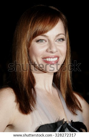 "HOLLYWOOD, CALIFORNIA. September 13, 2006. Melinda Clarke attends the Los Angeles Premiere of ""The Last Kiss"" held at the Directors Guild of America in Hollywood, California United States."