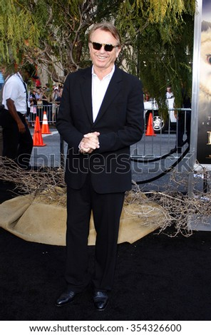 """HOLLYWOOD, CALIFORNIA - September 19, 2010. Sam Neill at the Los Angeles premiere of """"Legends of the Guardians: The Owls of Ga'Hoole"""" held at the Grauman's Chinese Theater, Los Angeles.  - stock photo"""