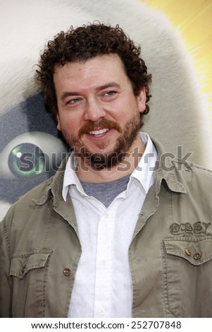 "HOLLYWOOD, CALIFORNIA - Sunday May 22, 2011. Danny McBride at the Los Angeles premiere of ""Kung Fu Panda 2"" held at the Grauman's Chinese Theater, Los Angeles. - stock photo"