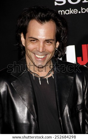 "HOLLYWOOD, CALIFORNIA - Tuesday March 13, 2012. Richard Grieco at the Los Angeles premiere of ""21 Jump Street"" held at the Grauman's Chinese Theater, Los Angeles. - stock photo"
