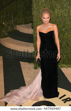 Hollywood, California, USA; February 24, 2013; Kristin Chenoweth attends the 2013 Vanity Fair Oscar Party at the Sunset Towers in Hollywood, California.