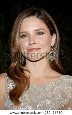 HOLLYWOOD, CALIFORNIA - Wednesday February 22, 2012. Sophia Bush at the Global Green USA's 9th Annual Pre-Oscar Party held at the Avalon Hollywood, Los Angeles.  - stock photo