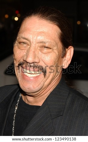 "HOLLYWOOD - DECEMBER 06: Danny Trejo at the premiere of ""Blood Diamond"" Grauman's Chinese Theatre December 06, 2006 Hollywood, CA."