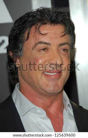 "HOLLYWOOD - DECEMBER 13: Sylvester Stallone at the world premiere of ""Rocky Balboa"" on December 13, 2006 at Grauman's Chinese Theatre, Hollywood, CA."