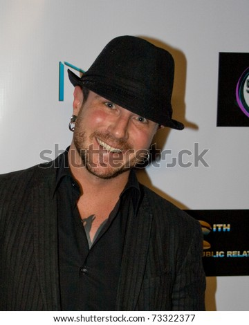 HOLLYWOOD - FEB 06: James Kaufman attends American Voodoo Records Pre-Grammy celebration at the Kress on February 6, 2009 in Hollywood California