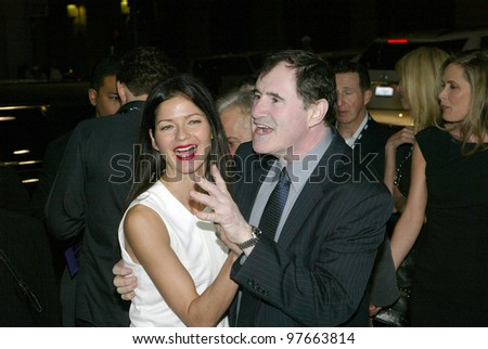 "HOLLYWOOD - JANUARY 25: Jill Hennessy and Richard Kind arrive at the Los Angeles premiere of HBO's drama series ""LUCK"" on January 25, 2012 at Grauma's Chinese Theater in Hollywood, CA."