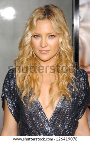 "HOLLYWOOD - JULY 10: Kate Hudson at the premiere of ""You, Me and Dupree"" at Arclight Cinema on July 10, 2006 in Hollywood, CA. - stock photo"