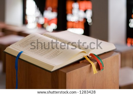 Holy Book - stock photo