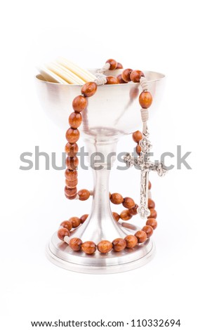 holy bread - stock photo