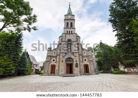 Holy Family Church in Zakopane, Poland