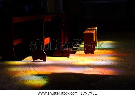 Holy light - stock photo