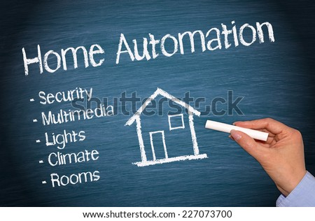 Home Automation - stock photo