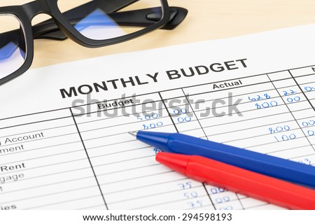 Budget planning for home