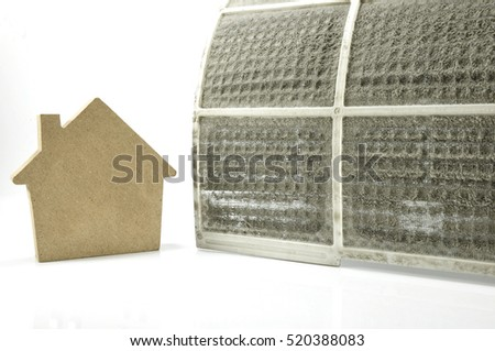 home concept home cleaner  home care Dirty filter of air conditioner in  female. Home Air Filter Stock Images  Royalty Free Images   Vectors