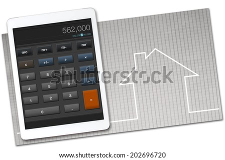 Cost estimate stock images royalty free images vectors for Home construction costs calculator
