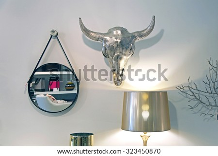 Home decor and furniture - stock photo