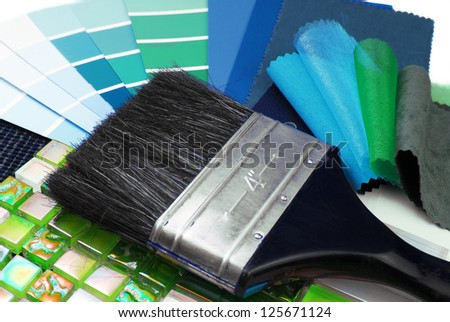 home decoration repair planning - stock photo