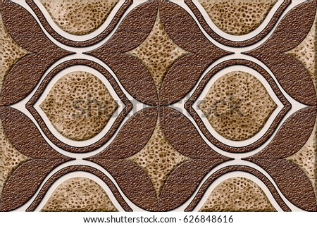 Home Decorative Colorful Wall Tiles Design Pattern Background,