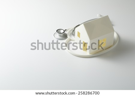 Home diagnostic - stock photo