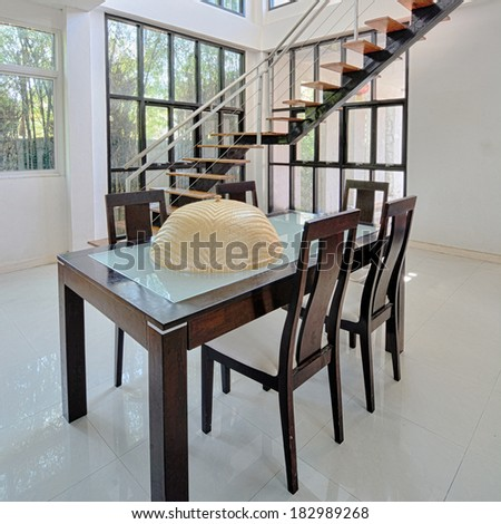 Home dining room interior design for modern life style.