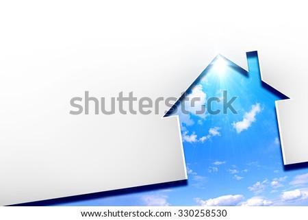 Home energy - stock photo