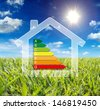 home energy - consumption wattage - stock photo