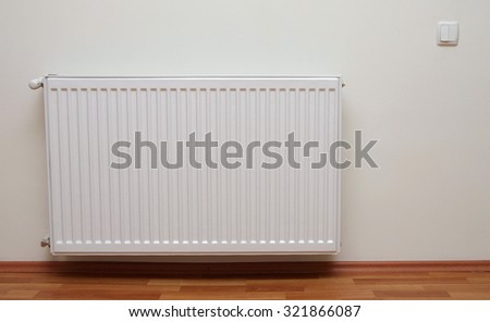 home gas heater closeup