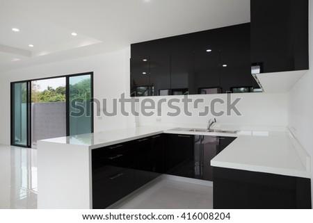 Home interior design - stock photo