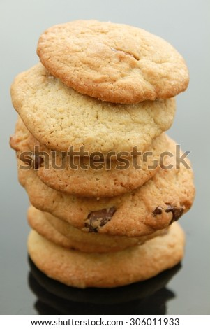 Home made cookie stack