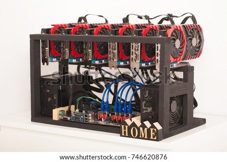 Litecoin mining farm graphics card cryptocurrency ccuart Images