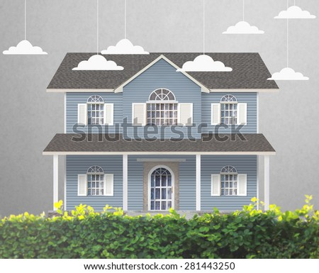 home model  Loan concept. Home Model Loan Concept Stock Photo 281443250   Shutterstock