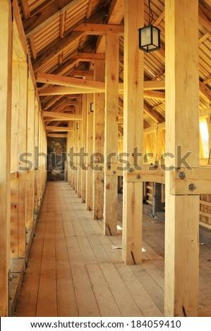 Home new construction - stock photo
